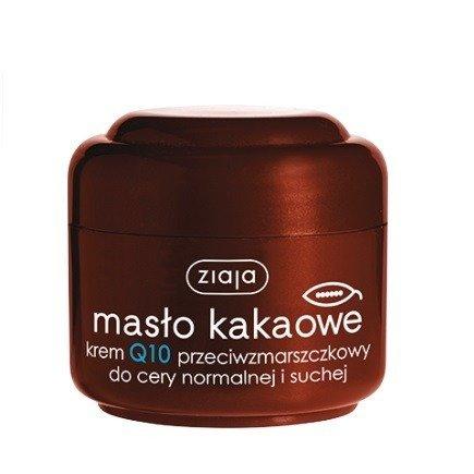 Ziaja - Masło Kakaowe - KREM Q10 przeciwzmarszczkowyj, 50 ml.
