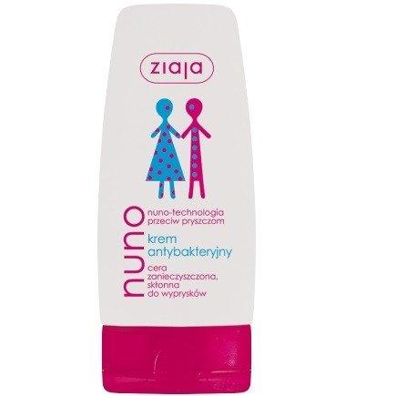 Ziaja - Nuno - Antybakteryjny KREM przeciw pryszczom, 60 ml.