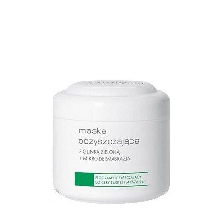 Ziaja - PRO – MASKA oczyszczająca z glinką zieloną i efektem mikro-dermabrazji, 250 ml.