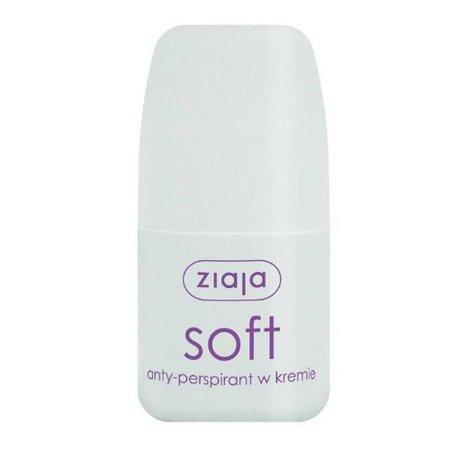 Ziaja SOFT - antyperspirant w kremie, 60 ml.