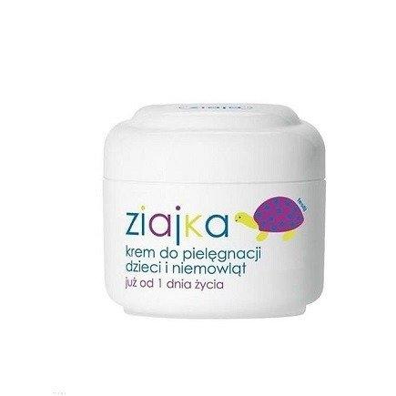 Ziaja - Ziajka - KREM pielęgnacyjny dla dzieci i niemowląt od pierwszego dnia życia, 50 ml.